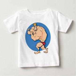 Culturiste T-shirt Pour Bébé