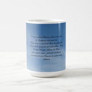 Cup, effiloche, tasse, flocon mug blanc
