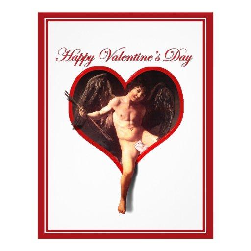 Cupidon de Valentine de Caravaggio Prospectus Avec Motif