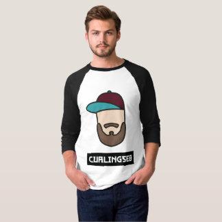 Curlingseb 3/4 homme de T-shirt de douille