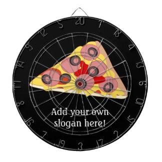 Customisez ce graphique de tranche de pizza jeu de fléchettes