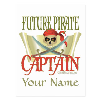 CUSTOMISEZ-LE ! Futur pirate Cartes Postales