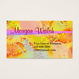 Customisez les deux côtés d'aquarelle de fiesta cartes de visite