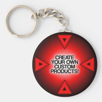 Customisez/personnalisez/créez vos propres porte-clé rond