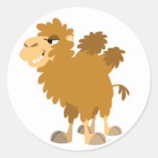 Cute Cartoon Two-Humped Camel Sticker