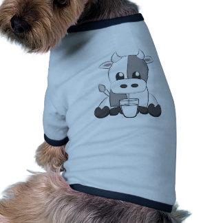 Cute cow - Vaquinha caressant Tee-shirt Pour Chien