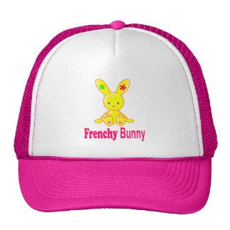 Cute Frenchy Bunny baseball cap Casquettes De Camionneur