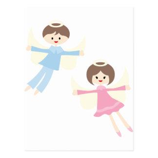 CuteLittleAngels7 Cartes Postales