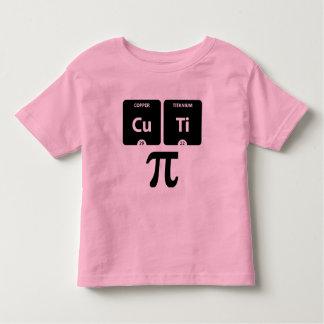 CuTi pi - Rose fin de T-shirt du Jersey d'enfant