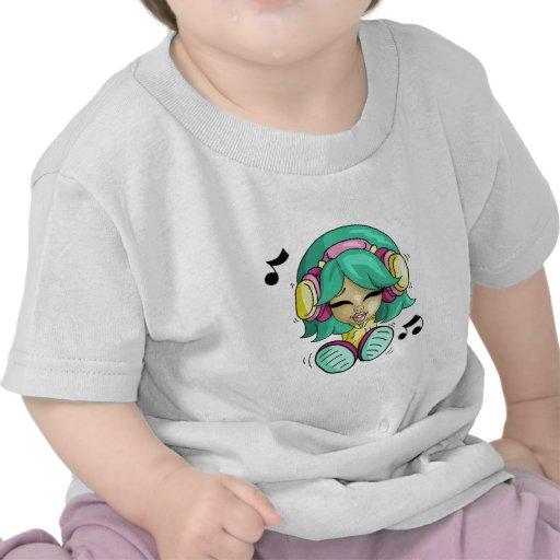 Cutie de musique t-shirt