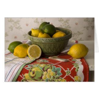 Cuvette 3728 de carte du jour de mère de citrons