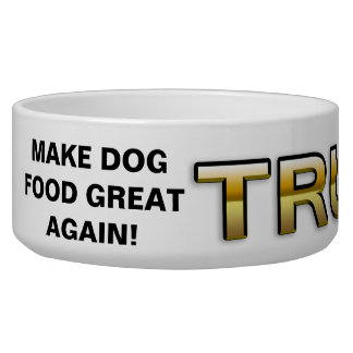 Cuvette d'or de chien du patriote 2016 d'atout écuelles pour chien