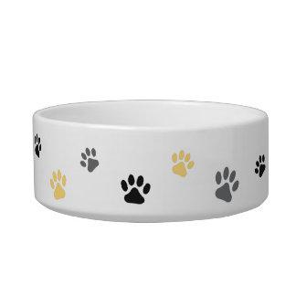 Cuvette en céramique animale sociale moyenne écuelle pour chat