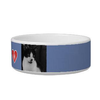 Cuvette personnalisée d'animal familier bol pour chat