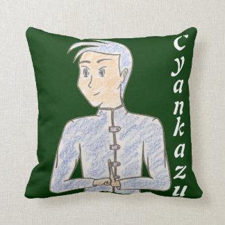 Cyankazu (avec le nom) oreillers