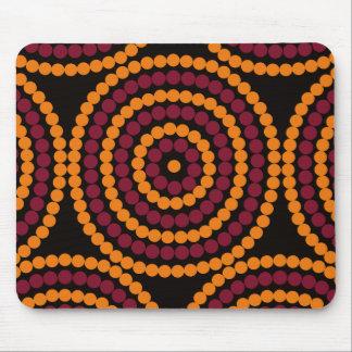 Cycle de vie indigène tapis de souris