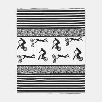 Cycliste de BMX Couverture Polaire