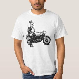 Cycliste de lapin t-shirt