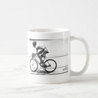 Cycliste de voie mug