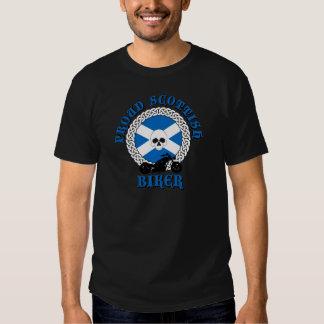 Cycliste écossais fier t-shirt
