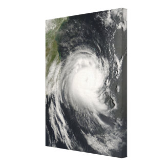 Cyclone tropical Favio approchant la Mozambique Toiles