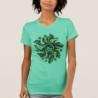Cyclone vert - résumé t-shirt