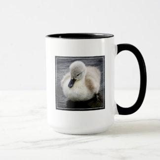 Cygne de bébé (jeune cygne) tasse