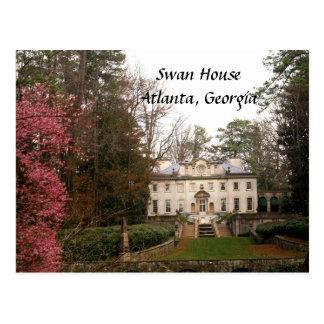 Cygne Maison-Atlanta Carte Postale