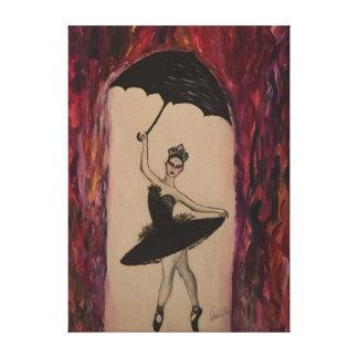 Cygne noir toile