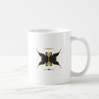 Cygnes noirs et colombes mug