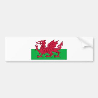 Cymru, la nation celtique du Pays de Galles Autocollant De Voiture