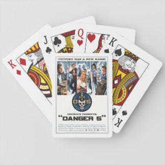 D5 cartes de jeu de la série 1 cartes à jouer