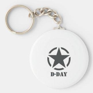D-Day Normandie - Jour-J - Normandy Porte-clé Rond