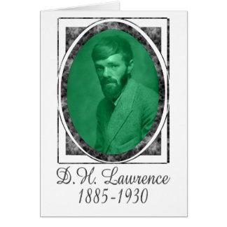 D.H. Lawrence Carte De Vœux