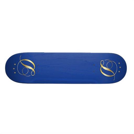 D-monogramme Skateboards Personnalisés