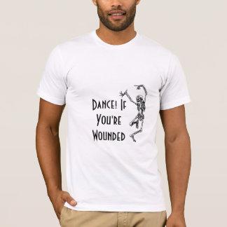 D ! T-shirt de classique de YW