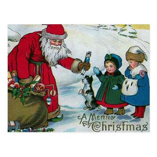 D un Joyeux cru Noël Cartes Postales