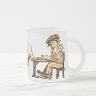 Da Vinci Code C++ Tasses en verre givré