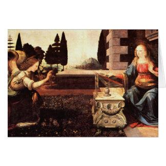 Da Vinci, Leonardo - l'annonce Cartes