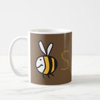 D'abeille toujours tasse de café