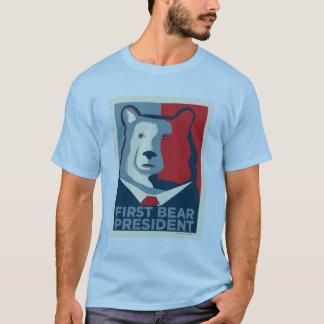 D'abord T-shirt d'ours du Président Men's
