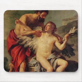Daedalus attachant les ailes d'Icare, c.1754 Tapis De Souris
