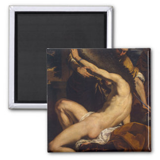 Daedalus et Icare par Charles Le Brun Magnet Carré
