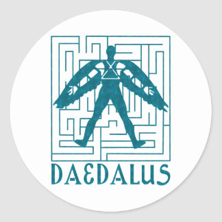 Daedalus Sticker Rond