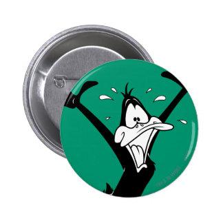 DAFFY DUCK™ excité Badge Rond 5 Cm