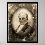 Daguerréotype 1845 de Daniel Webster Posters