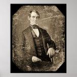 Daguerréotype 1846 d'Abe Lincoln Poster