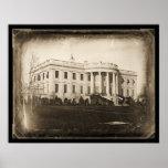 Daguerréotype 1846 de C.C de la Maison Blanche Posters