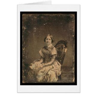 Daguerréotype 1848 de Jenny Lind d'actrice Cartes