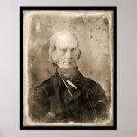 Daguerréotype 1851 de Henry Clay Poster